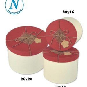 Κουτί καπελιέρα στρογγυλή